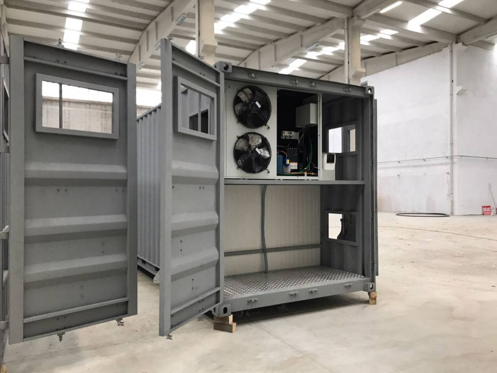 Container Type Cold Storage